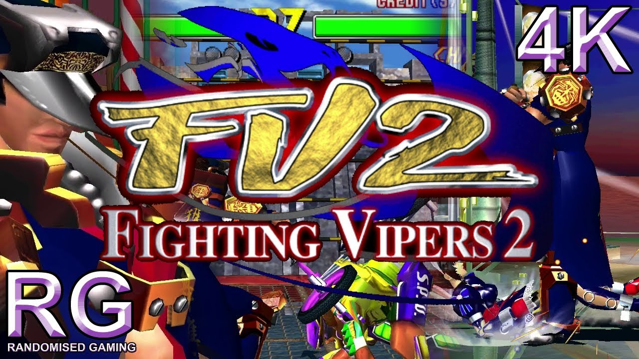 Fighting Vipers 2 - Arcade Model 3 - Intro & attract, playthrough as Bahn  [UHD 4K]