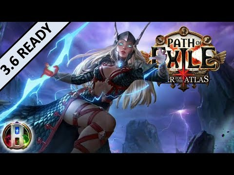 [3.5] Storm Brand Build - Elementalist Witch - Path of Exile War For The Atlas - Betrayal