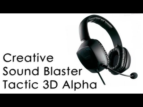 Creative Sound Blaster Tactic 3D Alpha Recenzja\Review (mic sample mp3)