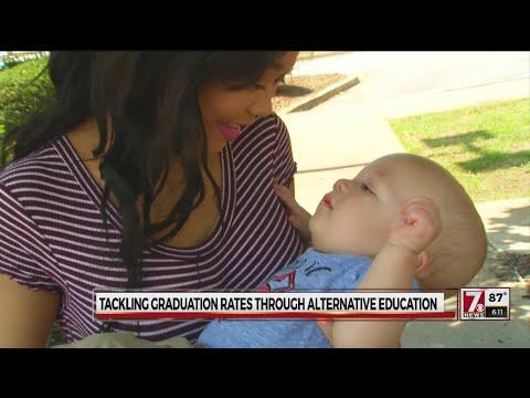Alternative programs help teen moms struggling to graduate