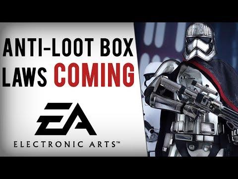 EA Faces Loot Box BAN Following Battlefront 2 Mess...
