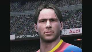 FIFA 11 vs PES 11 [Face and Gameplay comparison]