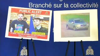 Missing men now suspects in Canada murders