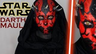 Darth Maul - Star Wars Halloween Tutorial