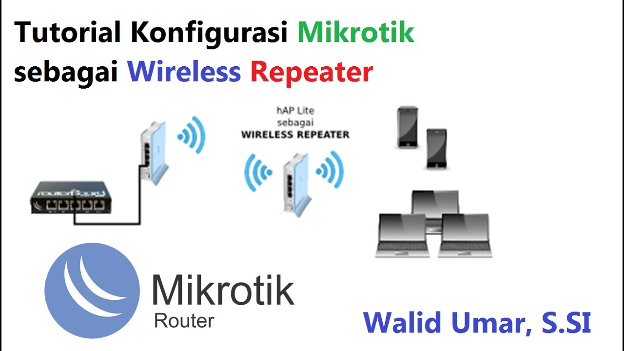 Tutorial Mikrotik Wireless Repeater #1