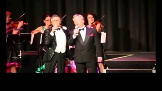 Bert Beel und Heiko Reissig singen La Mattinata im Duett