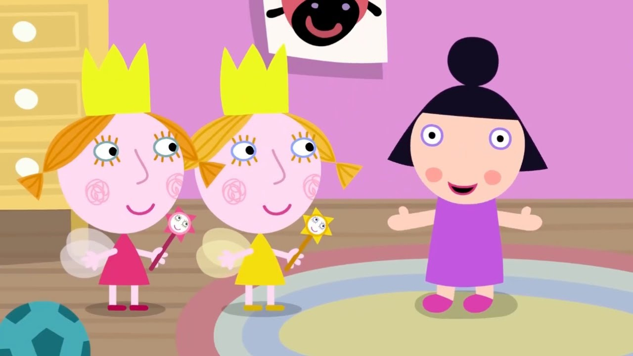 Маленькое королевство Бена и Холли | Кукла Няни Плам |