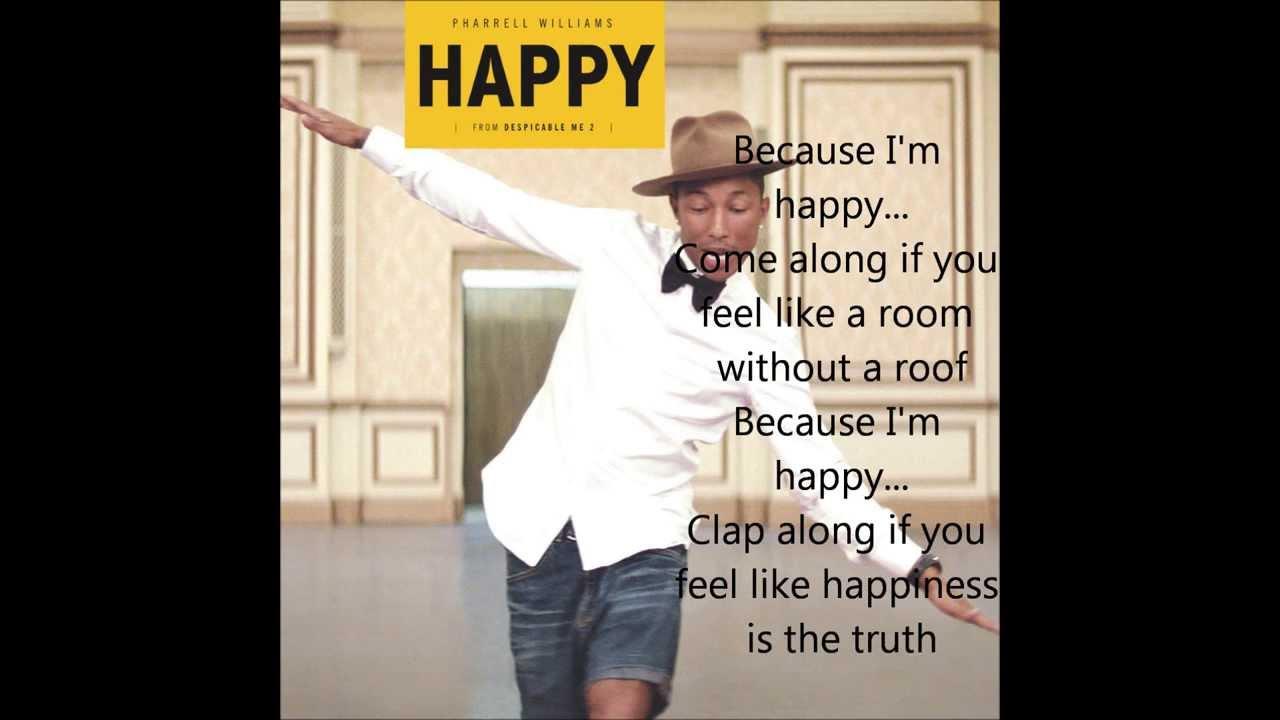 Pharell Williams - Happy (Lyrics) - YouTube