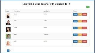 Laravel 5.8 Crud Tutorial with Upload File - 2