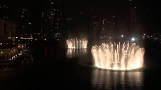 World Best Fountain Show - Watch Dubai Mall Fountain