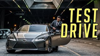 Test Driving the Lexus LC 500    The Black Panther Car Test Drive    Gent