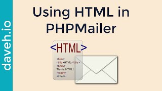 Format the Body of an email using HTML in PHPMailer