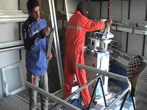 Menuiserie aluminium tunis youtube for Menuiserie aluminium fenetre