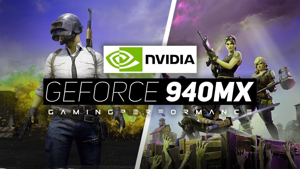 NVIDIA Geforce 940MX Gaming Performance 2018!