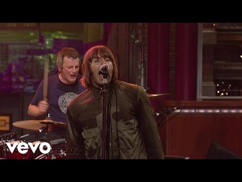 Beady Eye - Wigwam (Live on Letterman)