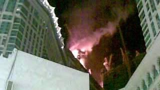 حريق في ابراج مكه 2