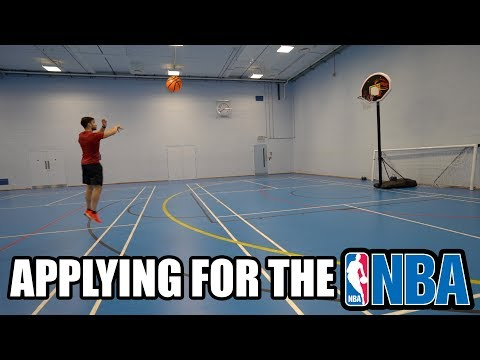 Applying For The NBA😲 Switching Into a Basketball Channel?
