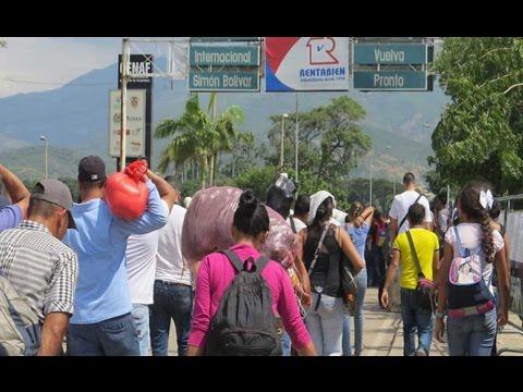 El puente internacional Simon Bolívar