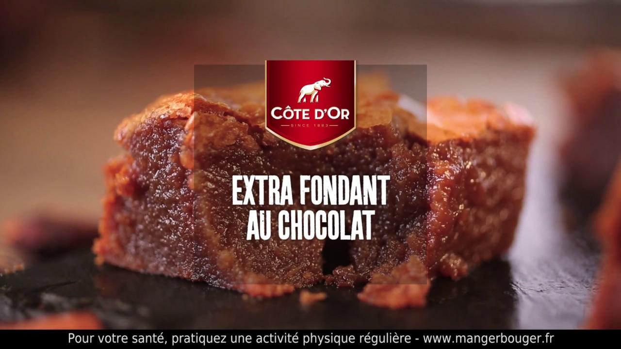 Cote D Or Marmiton Recette Extra Fondant Au Chocolat Cote D Or