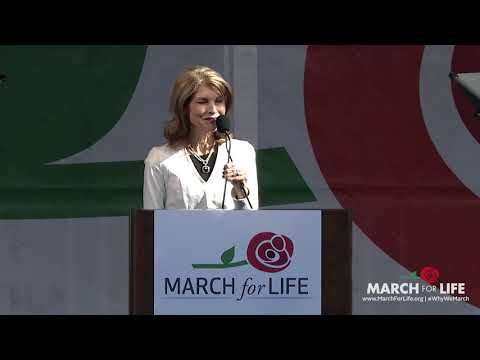 Pam Tebow at the 2018 March for Life
