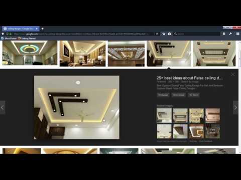 3ds max false ceiling design