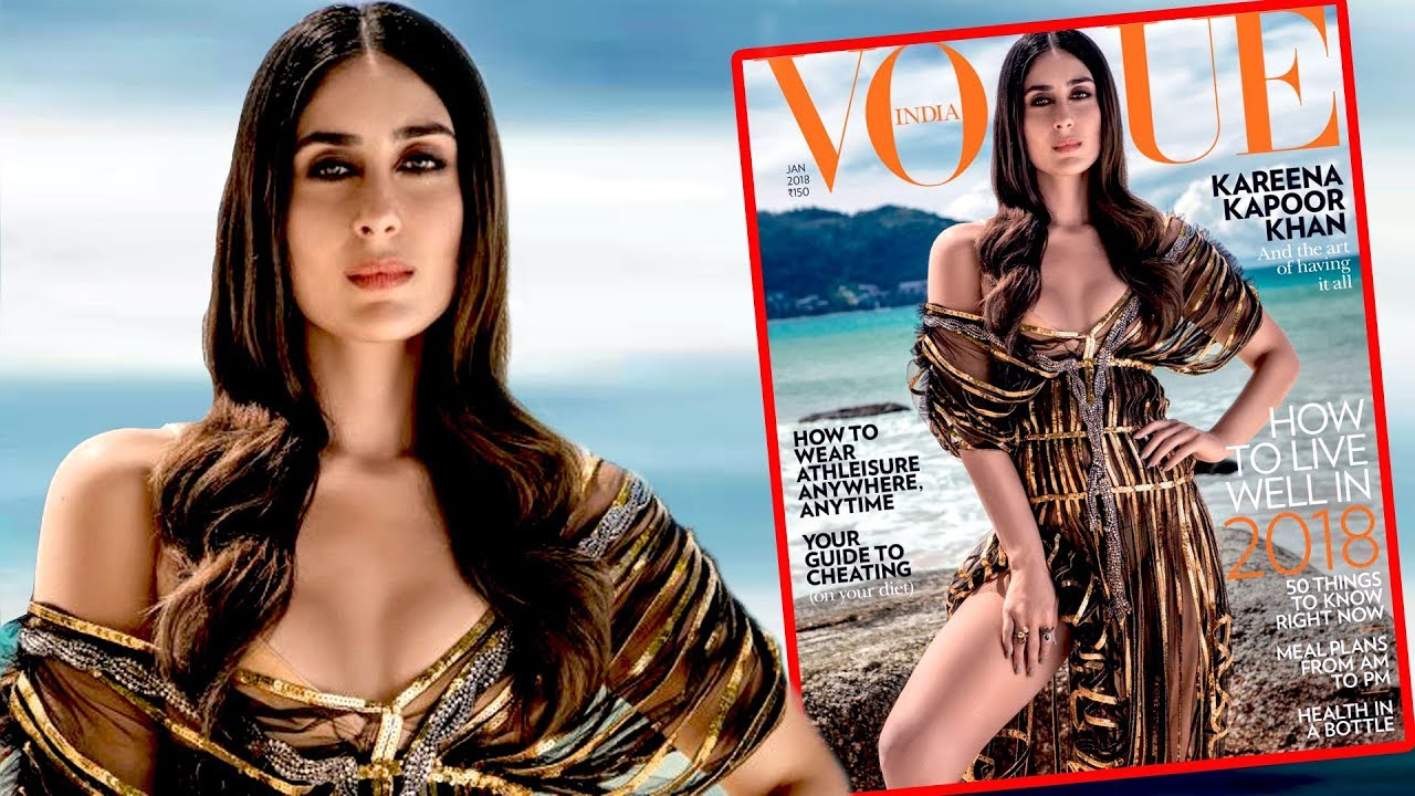 Kareena Kapoor S Exy Photoshoot For Cover Page Of Vogue Magazine