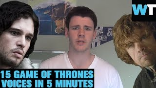 The BEST Game of Thrones Impressions EVER? | What's Trending Now