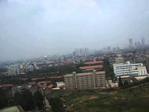 View from Wuhan University of Technology 17th floor