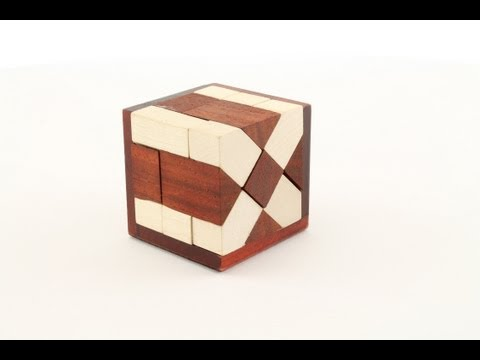 Soma Schief Cube Artist Made Wooden Puzzle by Constantin