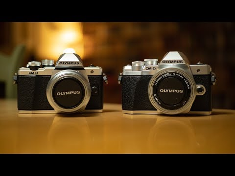 Olympus OM-D E-M10MKII and MKIII - specs and differences
