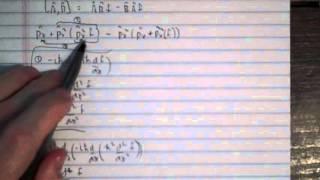 Engel and Reid, Problem 17.9: Evaluate the commutator