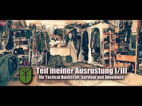 Teil meiner Ausrüstung I/III für Bushcraft, Survival, Outdoor and Adventure.