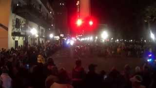 2015 Mystics of Time Mardi Gras Parade in Mobile, Alabama (Part 1)