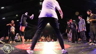 MELTING FORCE vs FUNK FOCKERS (HIP HOP NEW SCHOOL 2015) WWW.BBOYWORLD.COM
