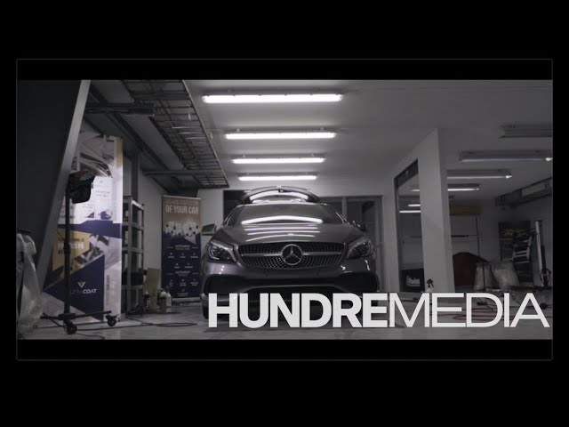 Hundre Media x Flawless Shine - Detailing Mercedes A180