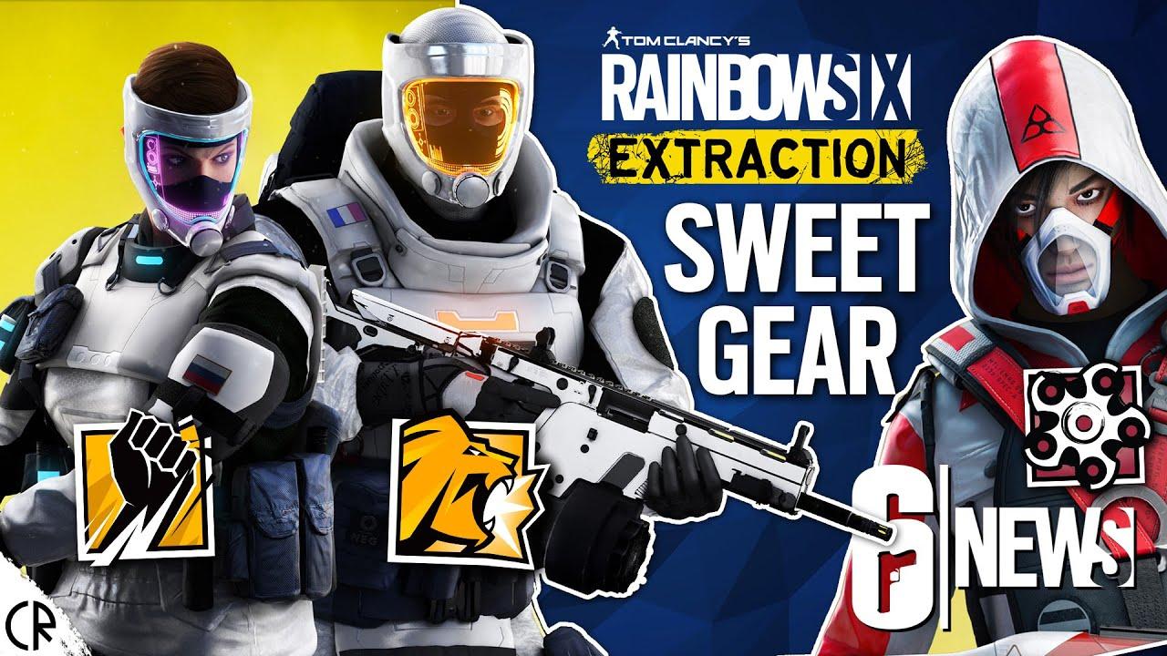 Sweet Gear & Extraction Secrets - 6News - Tom Clancy's Rainbow Six Extraction