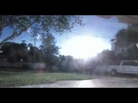 HUGE FIREBALL EXPLODES OVER FLORIDA