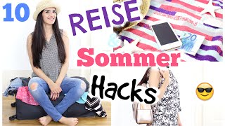✈ 10 TRAVEL & SUMMER HACKS + URLAUB FASHION | KINDOFROSY