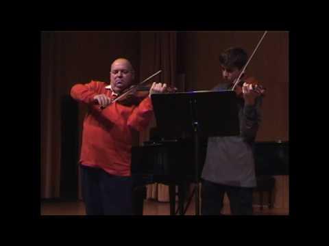 Piotr Janowski and David Radzynski play Bartok Duos, 2000