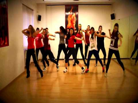 SHAC - Push Back - Dancehall choreography