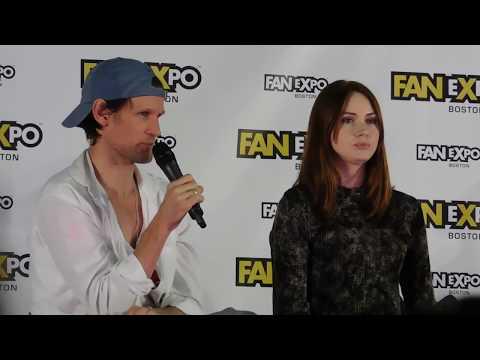 Doctor Who Panel @ Boston Comic Con 2017 (Matt Smith & Karen Gillan)