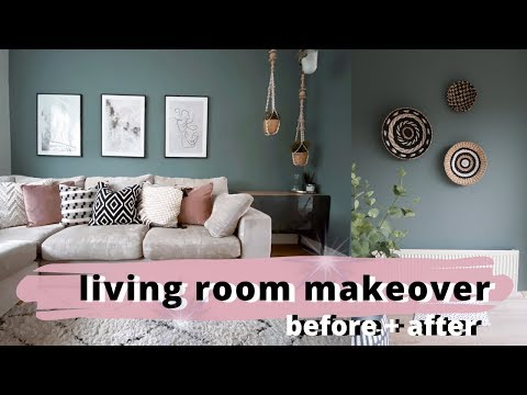 LIVING ROOM MAKEOVER 😍| BEFORE AND AFTER | ad