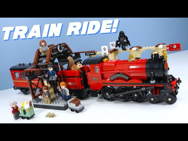 LEGO Harry Potter Hogwarts Express Set Speed Build Review 2018