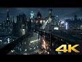 Batman Arkham Knight - Gotham City View - DreamScene [Live Wallpaper] - 4K