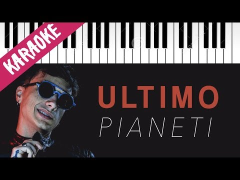 Ultimo | Pianeti // Piano Karaoke con Testo