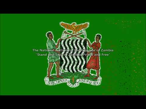 Zambia National Anthem with music, vocal SOLO, and lyrics English