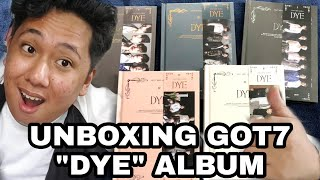 GIVEAWAY + UNBOXING: 갓세븐 GOT7 'DYE' Album [Finally!! After m…