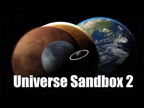 Universe Sandbox 2  - Симулятор столкновений в космосе.