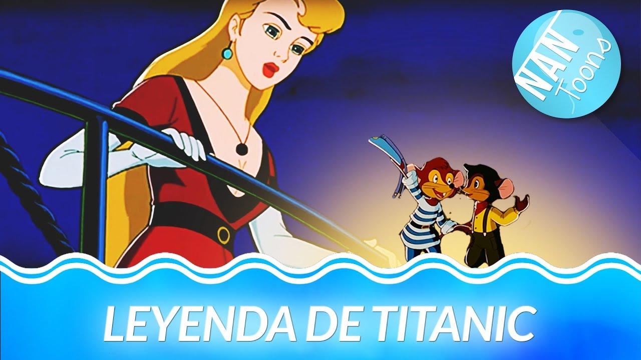 Titanic Dibujos Animados Para Niños Leyenda De Titanic
