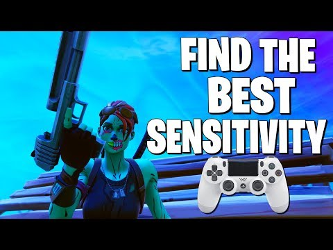 """How to Find the """"BEST"""" Controller Sensitivity (Fortnite Battle Royale)"""